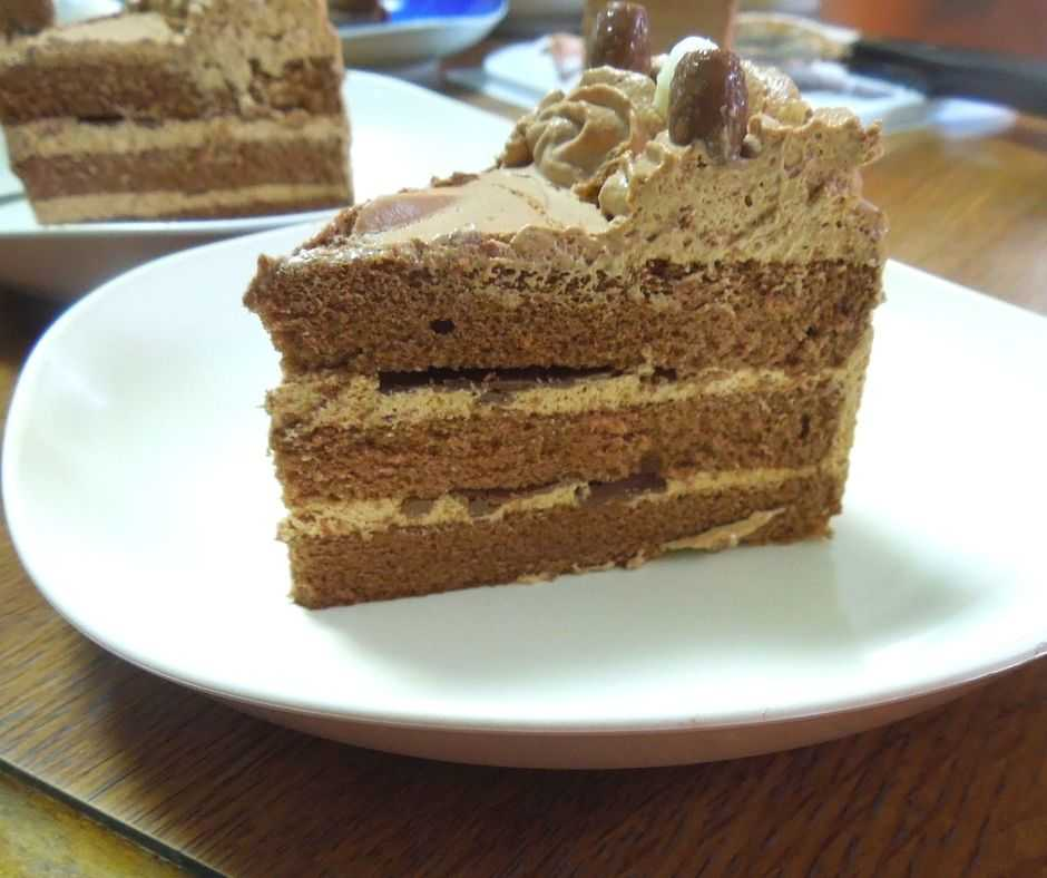 チョコレートケーキ1ピース