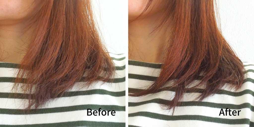 エブリシングバームの効果(髪)