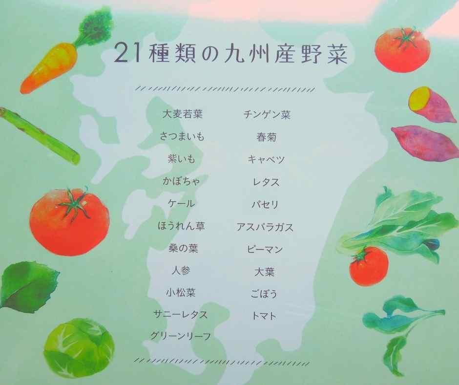 ドクターベジフルで使われている野菜
